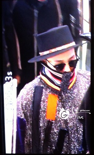 Big Bang - Gimpo Airport - 15jan2015 - G-Dragon - GD Fan - 02