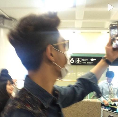 BIGBANG departure Jeju 2015-05-20 02