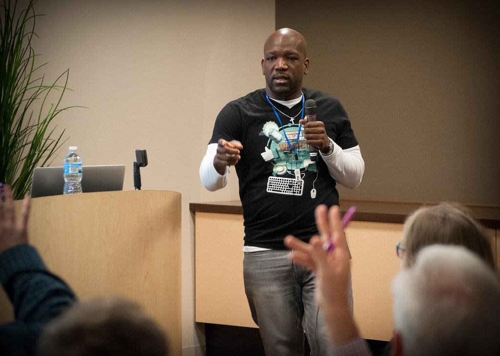 2016 WordCamp Chicago - Patrick Alexander, Speaker (Photo by Kari Leigh Marucchi)