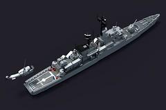 Marina Militare's Lupo Class Frigate