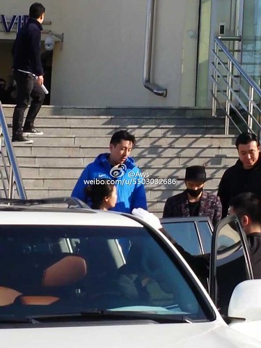 Big Bang - Harbin Airport - 21mar2015 - Tae Yang - Aws- - 01