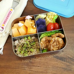 Pineapple Teriyaki Chicken Lunchbots Bento