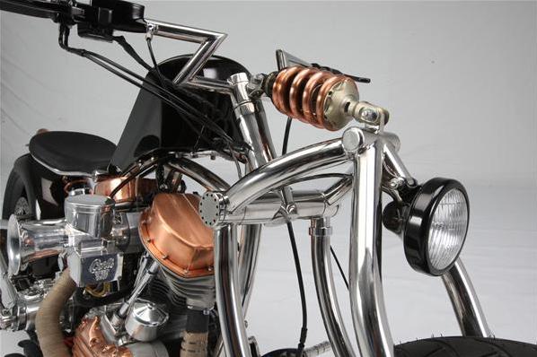 Вилка на мотоцикл