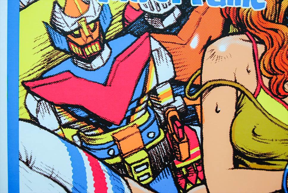 玩具人必收傑作!Paradise × Rockin' Jelly Bean 限定絹印海報