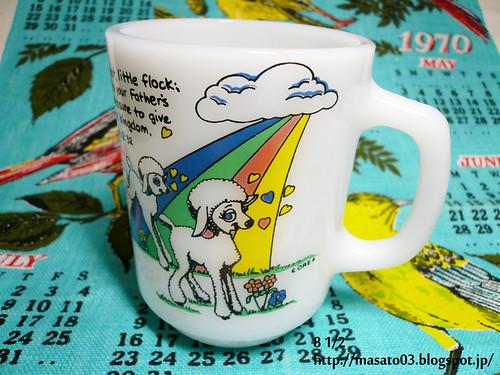 Fire King Little Lamb mug 3