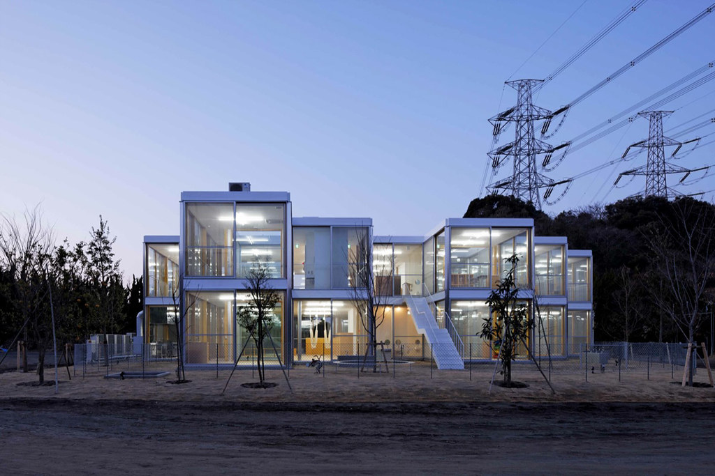 Hongodai Christ Church School & Nursery design by Takeshi Hosaka Architects