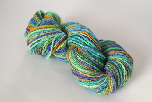 Handspun - Eye of the Peacock