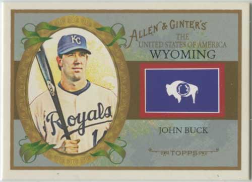 2008 Allen & Ginter States John Buck
