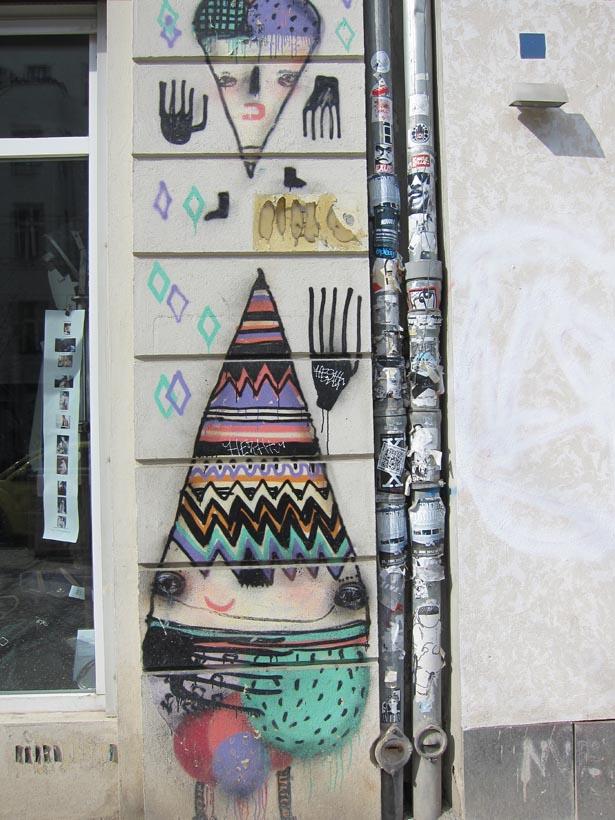 berlin grafitti ett