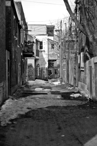 Spring Alley by Ennev