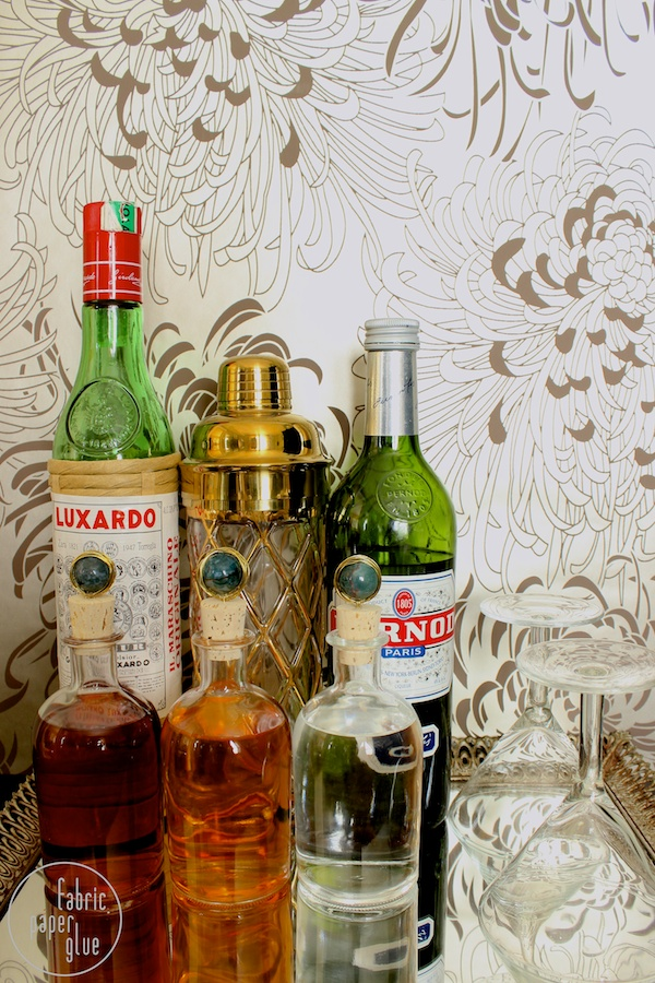 Marble-Topped Spirit Bottles 9