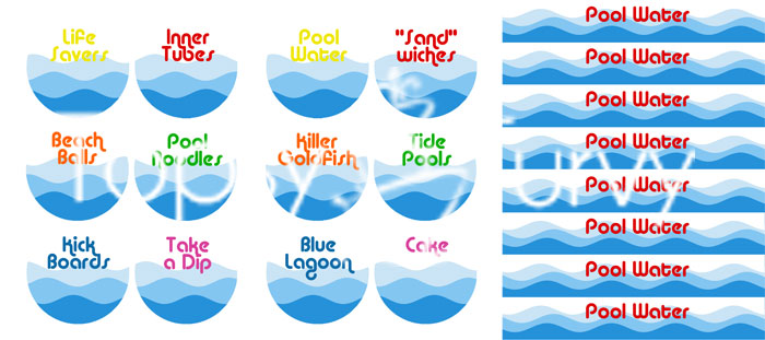 Pool Birthday Party - recipes & labels | Ashlee Marie