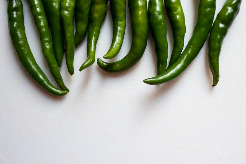 Thai green chilies