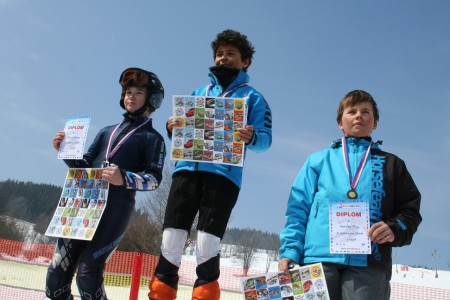 Bruntálsko má nový lyžařský talent – dvanáctiletého Alexe Schefflera