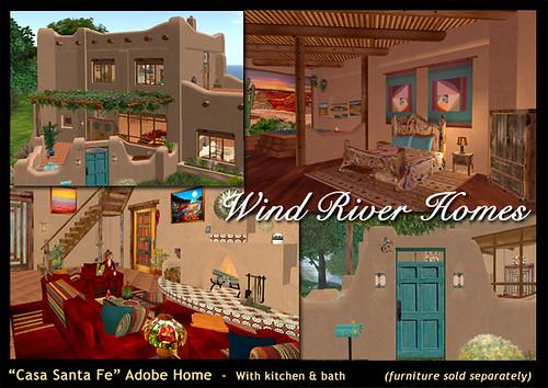 Casa Santa Fe Adobe Home by Teal Freenote