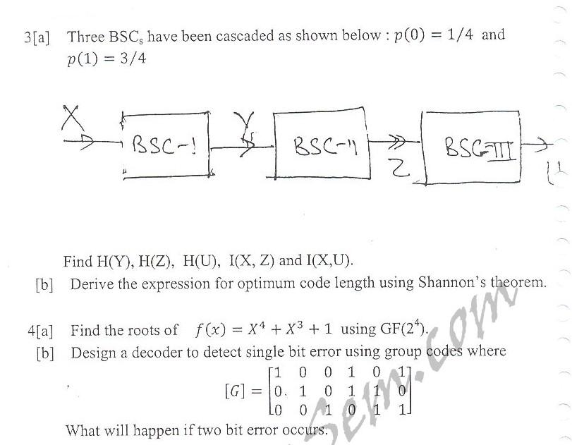 DTU Question Papers 2010 – 7 Semester - Mid Sem -  EC-403