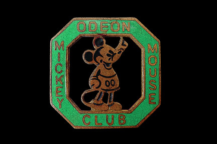 Mickey Mouse Odeon Club c1935