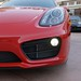 NEW 2014 Porsche Cayman S 981 FIRST PICS in Beverly Hills 90210 Guards Red 1205