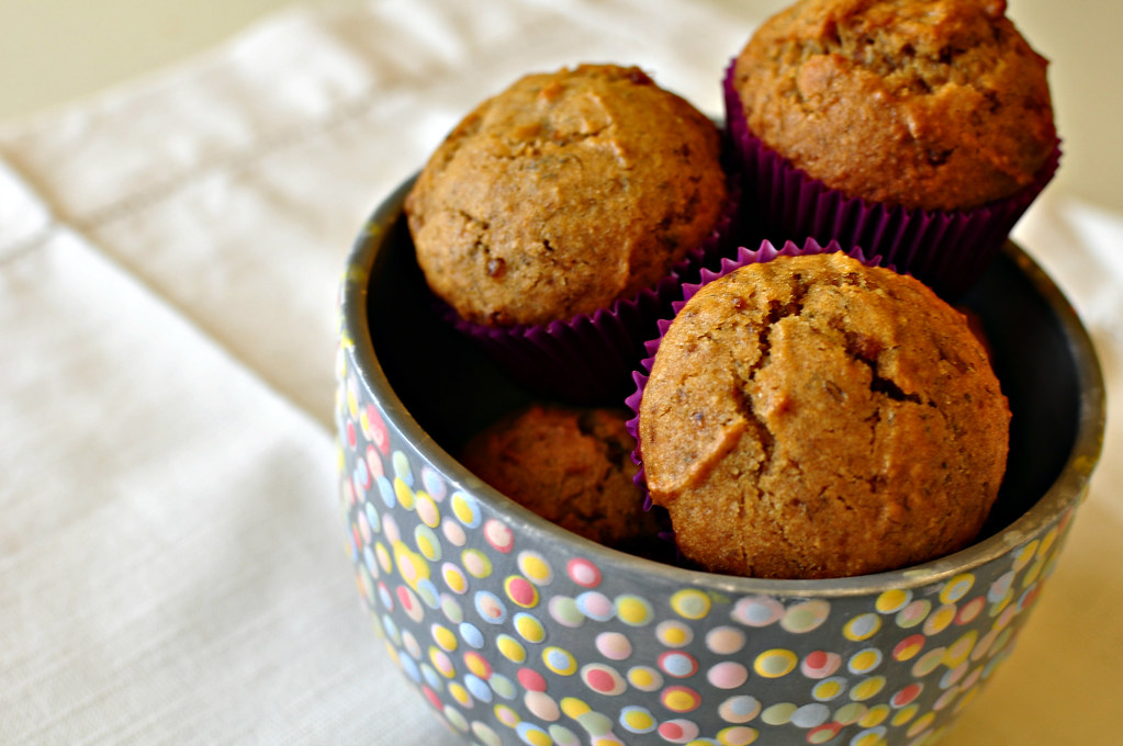 Banana Biscoff Muffins - Meg's Everyday Indulgence