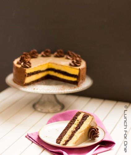 Mango Schokoladen Espresso Torte (2 von 1)