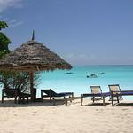 Imagine de Nungwi Beach Plaja cu o lungime de 2210 m. vacation tanzania honeymoon day pwpartlycloudy
