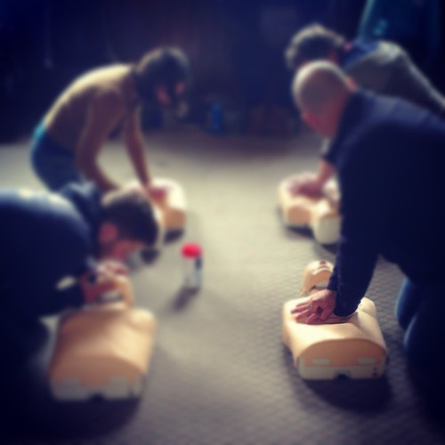 First aid course learning cpr