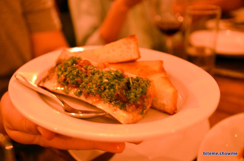 Animal - Marrow bone, chimichurri, caramelized onions