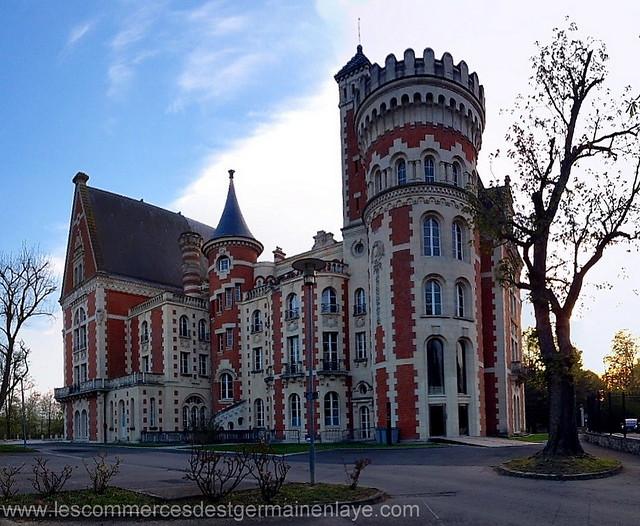 Le Château d'Hennemont à Saint-Germain-en-Laye