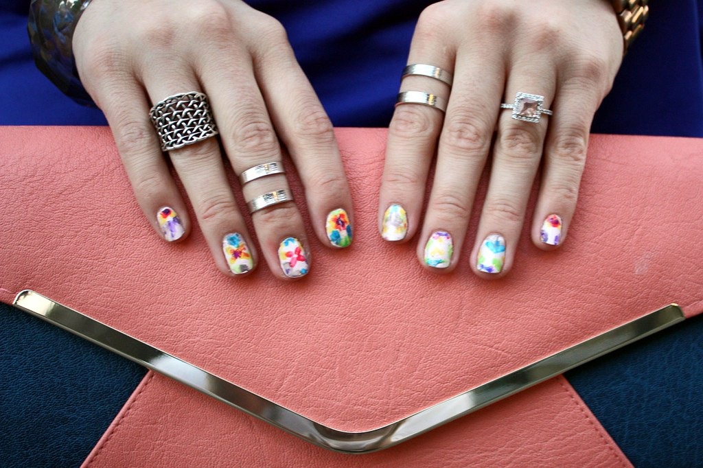 Kaleidoscope Manicure Tutorial