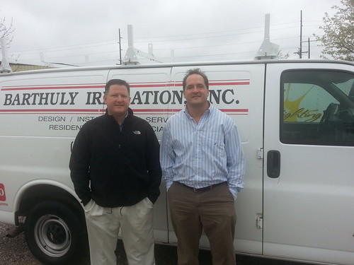 Ken and Lartry Barthully: Owners of Barthuly Irrigation Zionsville Based Company