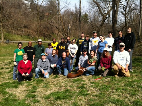 April 2013 Bingham Group by Frederick Law Olmsted Parks