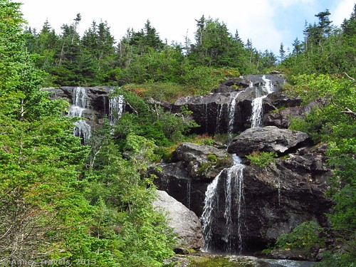 Waterfalls along the Ammonoosuc Ravine Trail, New Hampshire