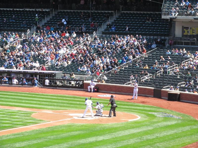 Los Angeles Dodgers vs. New York Mets - April 25, 2013