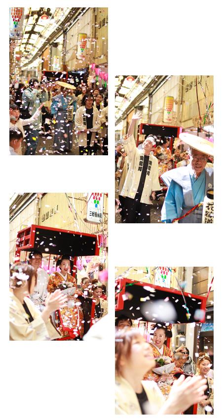 JIMO婚 愛知県瀬戸市 結婚式写真 婚礼写真 せと陶祖まつり