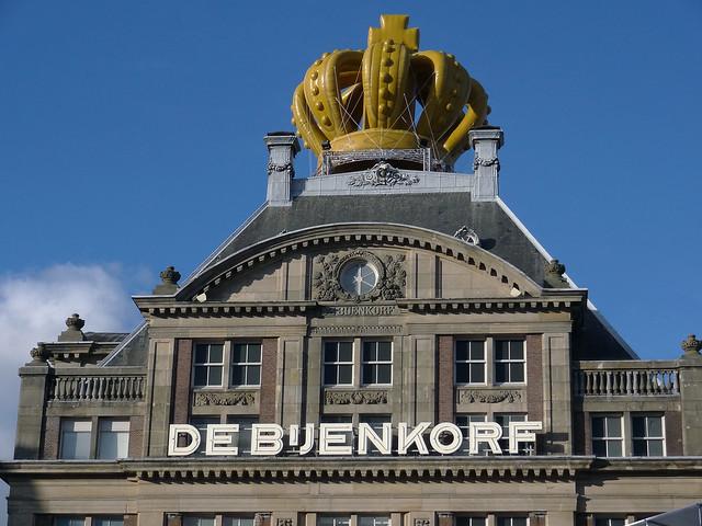 Amsterdam preparing for 30 April 2013.