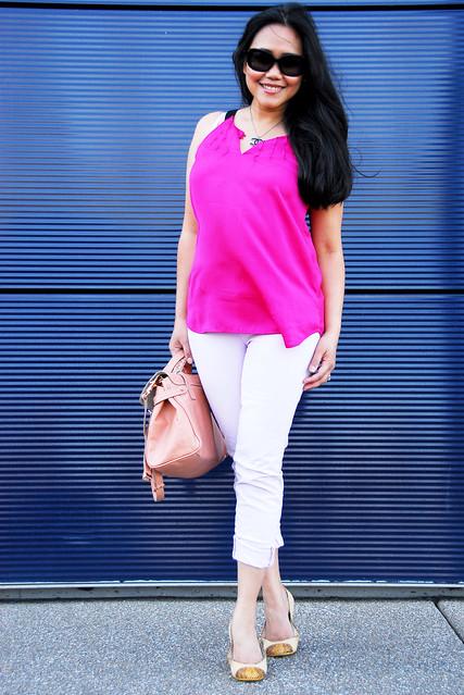 pink jbrand - chanel - kors flats - mulberry alexa5