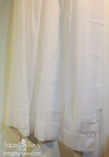 how to dye voile curtains ombre Ashlee Marie real fun with real food