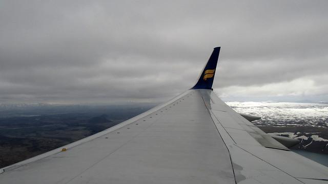 Arrival in Reykjavík
