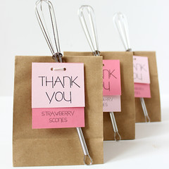 Scones Shower Favors