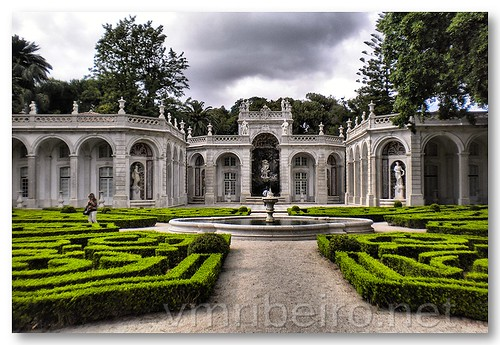 Jardins do Palácio de Belém by VRfoto
