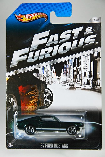 Hot Wheels: Fast & Furious 4/8