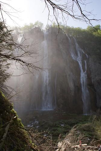 Plitvice Lakes falls