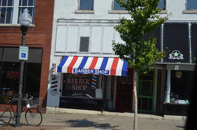 Downtown Barber Shop in Lawrence, Kansas Flickr - Photo Sharing!