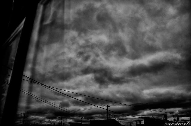 「曇天」 - 北海道