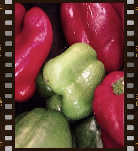 Old peppers by Damian Gadal