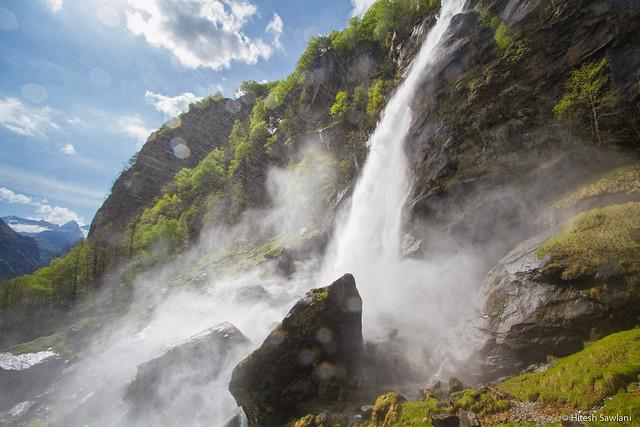 Foroglio Falls