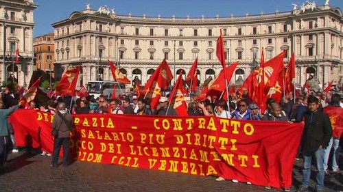 Rome News Wire | Pan African News Wire Italy Coalition Thousands Rally In Rome