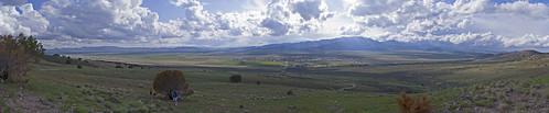 panorama clouds utah desert valley lakemountain eaglemountain oquirrhmountains