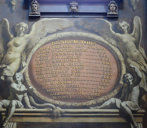 Painted Hall Benefactors