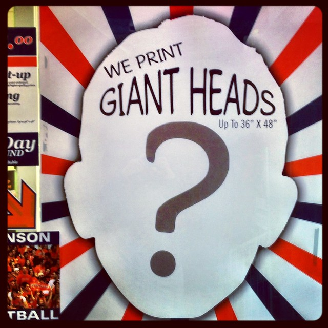 Day 142: Giant Head